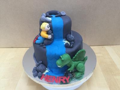 Spinosaurus Boys Birthday Cake